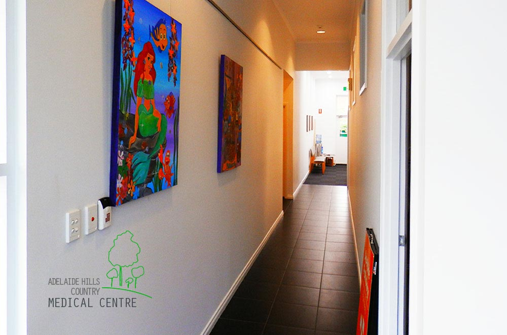 Adelaide Hills Country Medical Centre Hallway