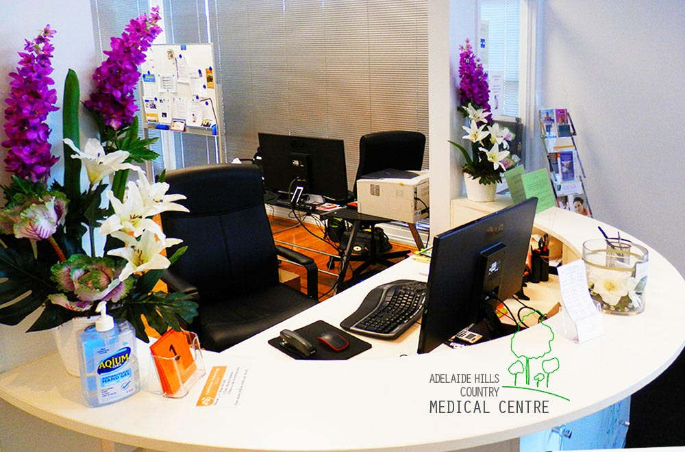 Adelaide Hills Country Medical Centre Reception