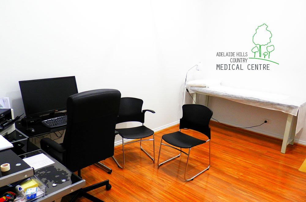 Adelaide Hills Country Medical Centre Doctor's Parlour